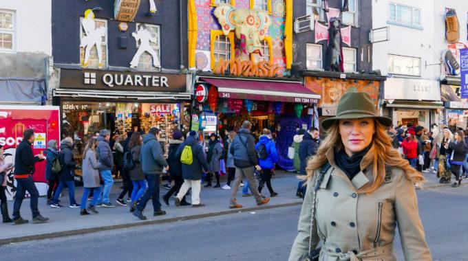 Strolling around in Camden Town