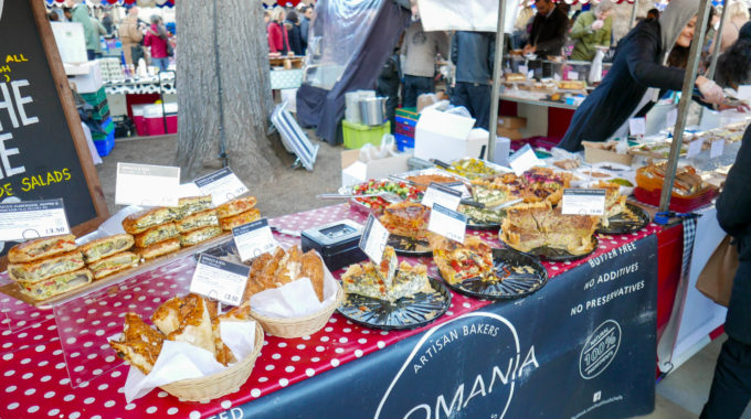 Visiting Partridges Food Market in Chelsea