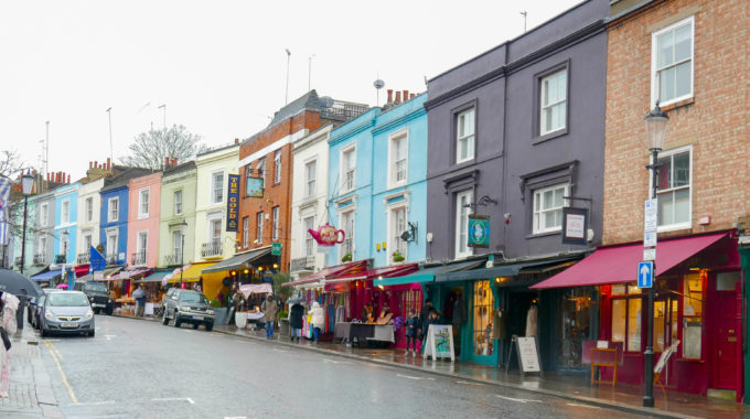 Everything looks better in colour – which is why, you should go to Notting Hill!