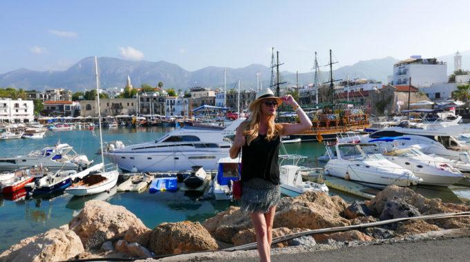 Catching the sun in Kyrenia