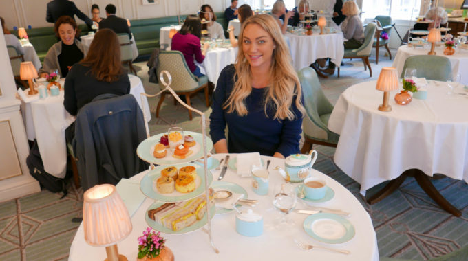 Luxury shopping with Afternoon Tea at Fortnum & Mason