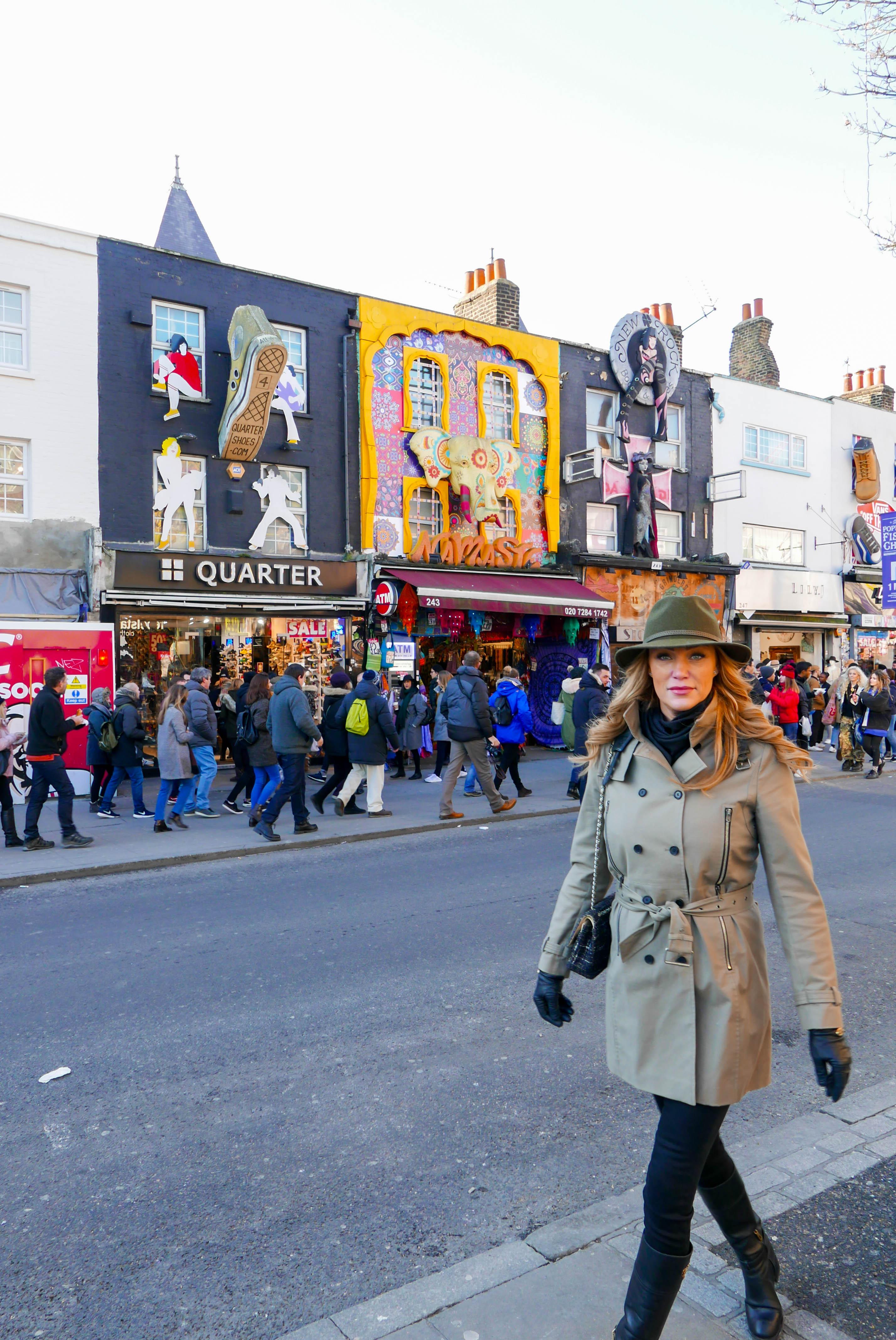 Camden Town: Strolling Around In Camden Town