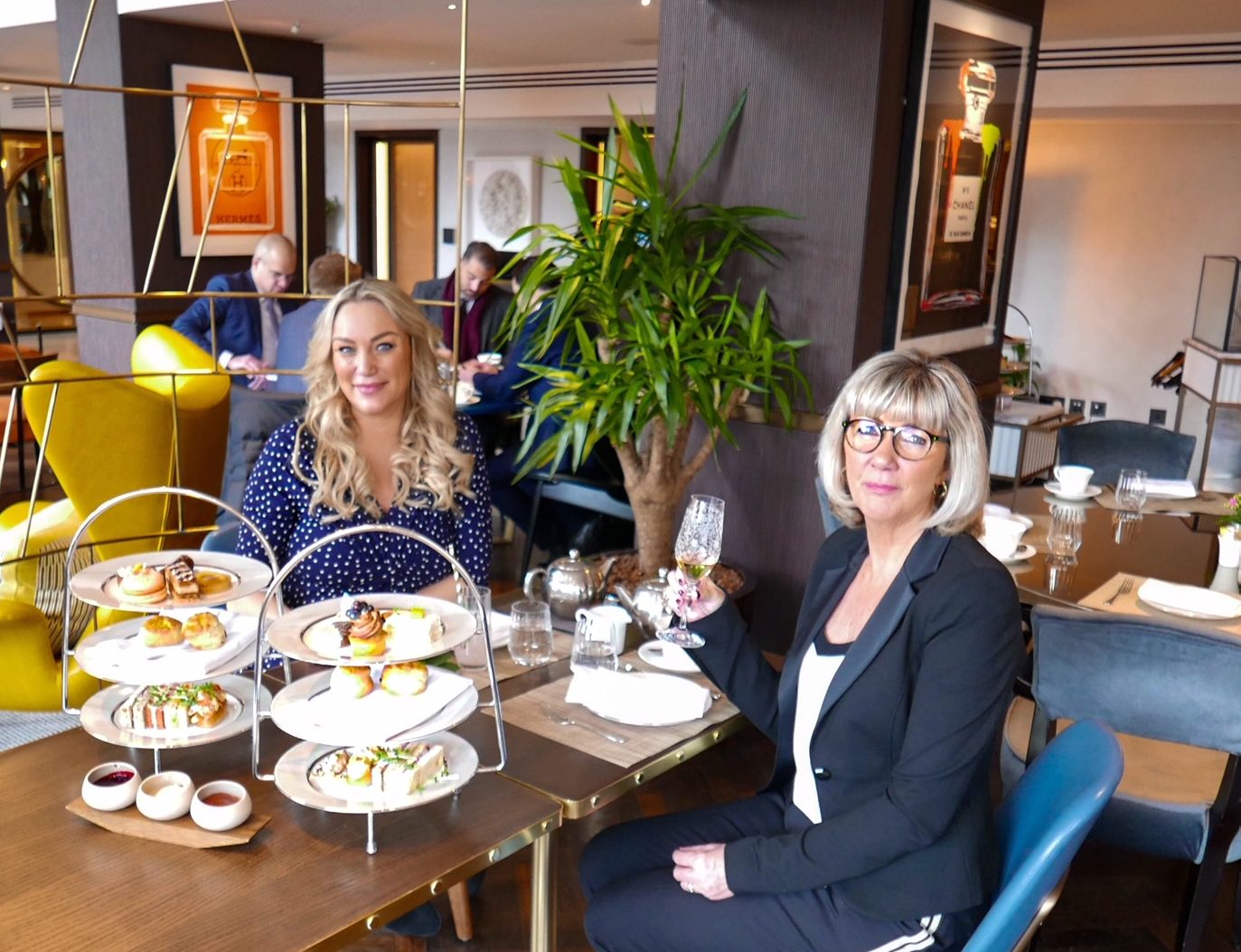 Celebrating Mother's Day at Galvin at The Athenaeum