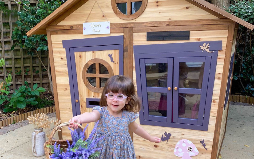 Clara's Playhouse Makeover