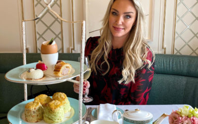 Must-Try Savoury Afternoon Tea at Fortnum & Mason