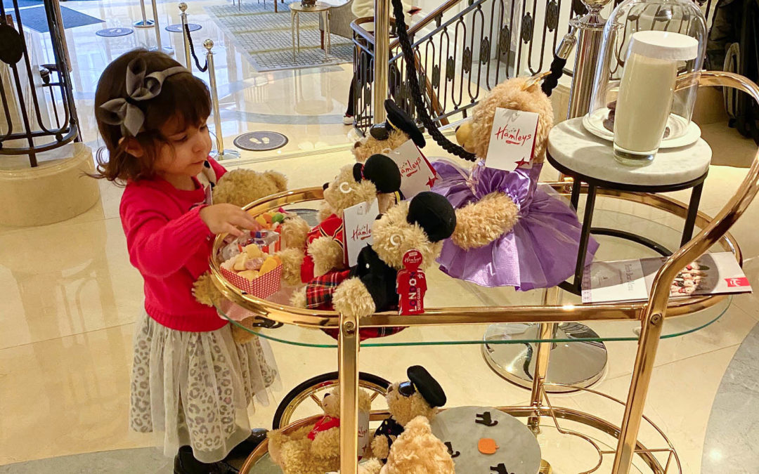 A Very Special Teddy Bear Butler Service for Clara at Marriott Park Lane