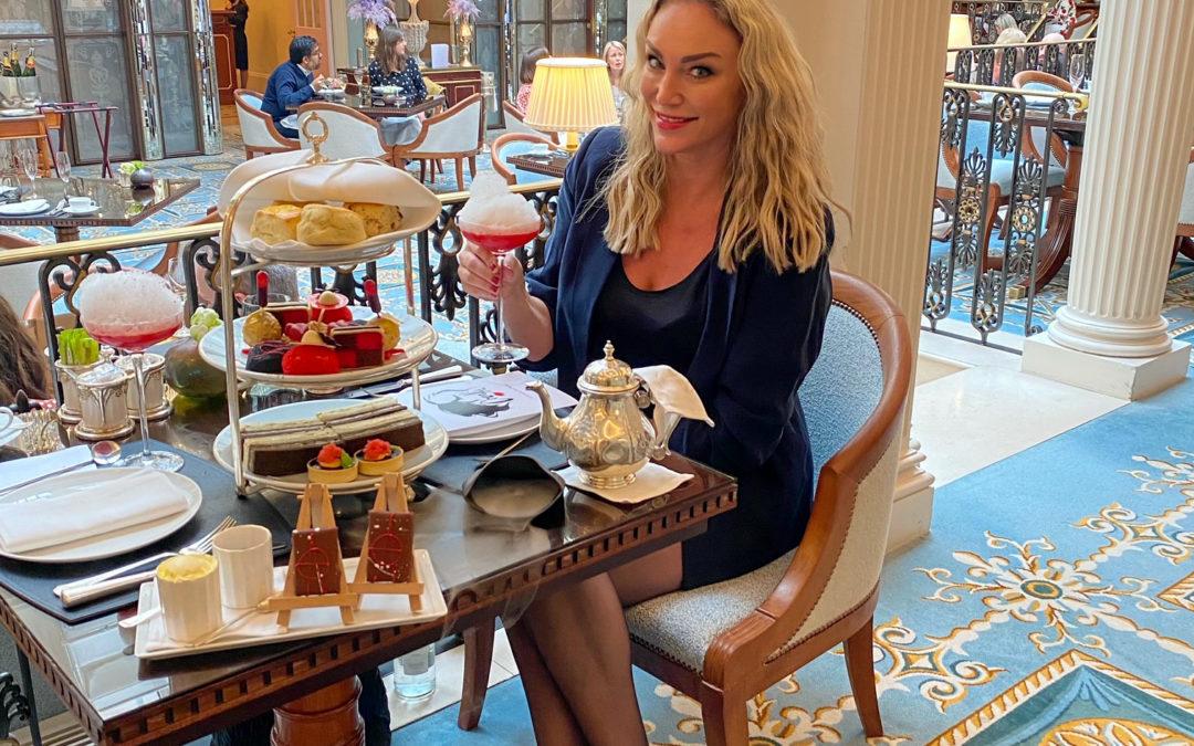 A Real Scene Stealer! Cruella Afternoon Tea at The Lanesborough